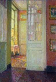 Interior, by Henri LeSidaner