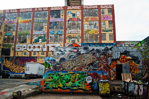 5pointz; photo by Matt Harvey;downloaded from Flcker via Creative Commons