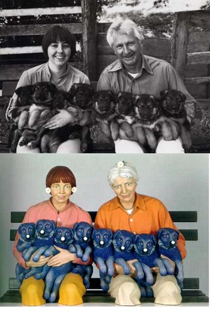 "The Rogers-Koons ""Puppies"" v. ""String of Puppies"""