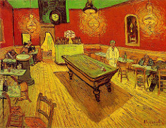 The Night Cafe- Van Gogh/ Yale University