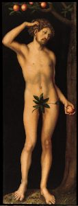 Nazi looted art Painting of Adam-by cranach-the-elder