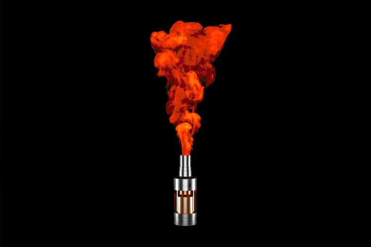 Vape-Health-Crisis Red Smoke