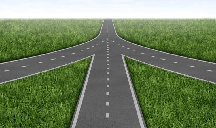Cannabis legal news December 2020 Roads converge merger concept