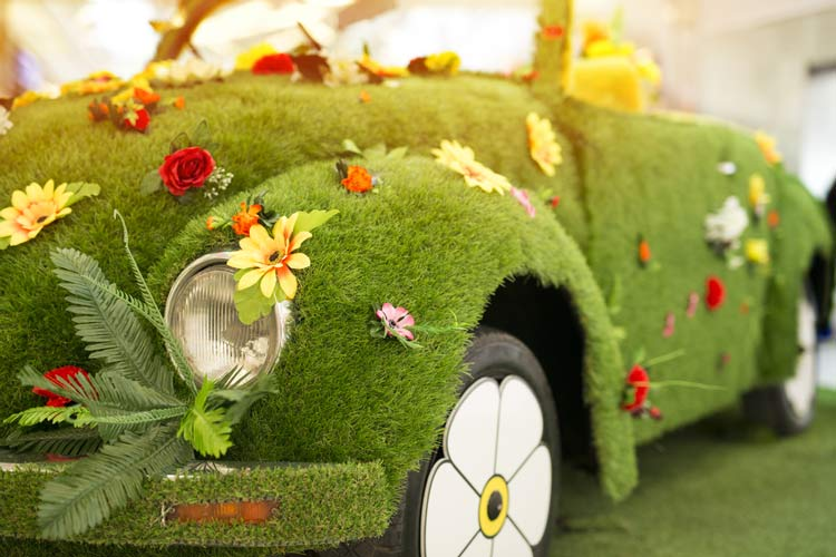 Flower-Power-VW-Bug concept for exploring renewable energy in Cannabis production in cannabis legal news 4/21