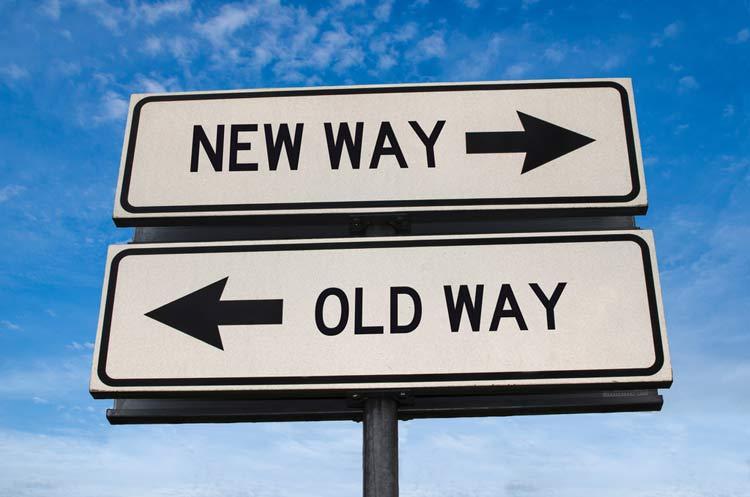 Cannabis legal news New Way Vs Old Way Signs